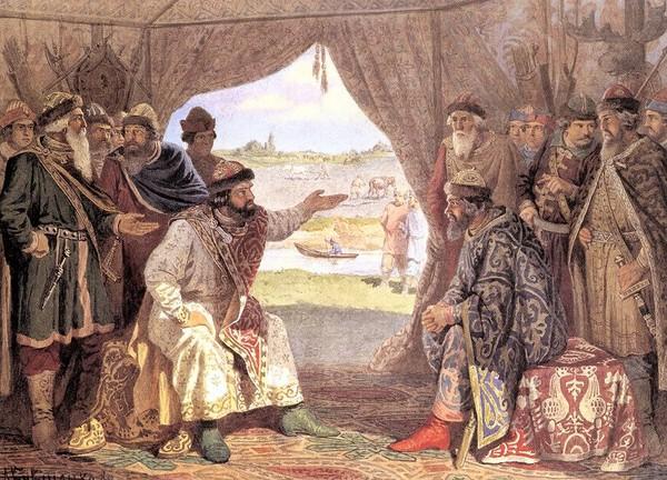 Долобский съезд князей – свидание князя Владимира Мономаха с князем Святополком