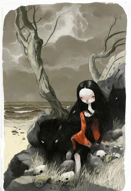 картинка: современный мексиканский художник Тony Sandoval